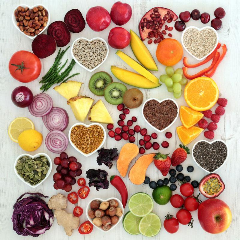 Obst und Gemuese | Vitamine und Mineralstoffe