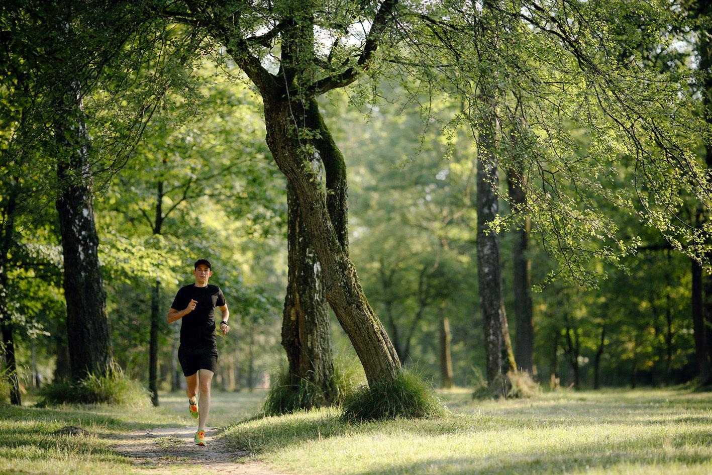 Laufen im Fruehling