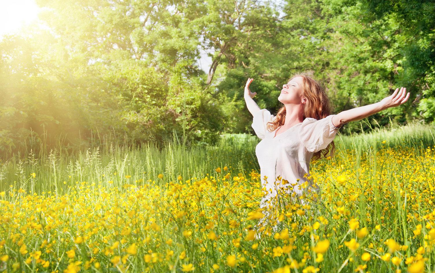 Fruehlingssonne | Vitamin D tanken!