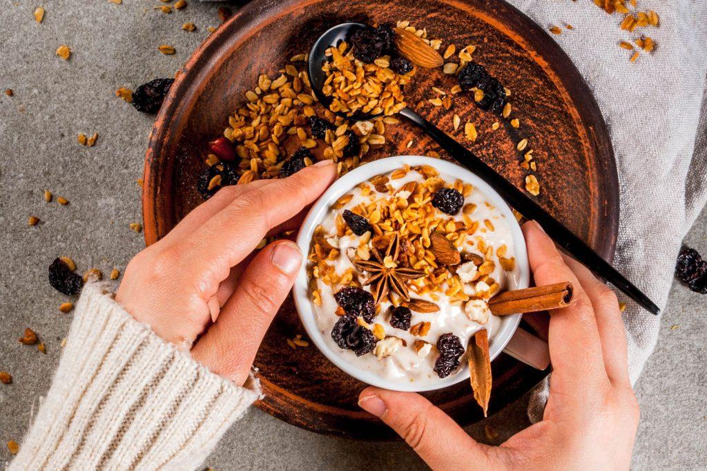 Porridge - das Power-Fruehstueck