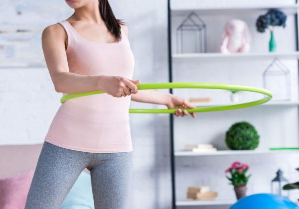 Hula-Hoop – Effektives Training für zu Hause