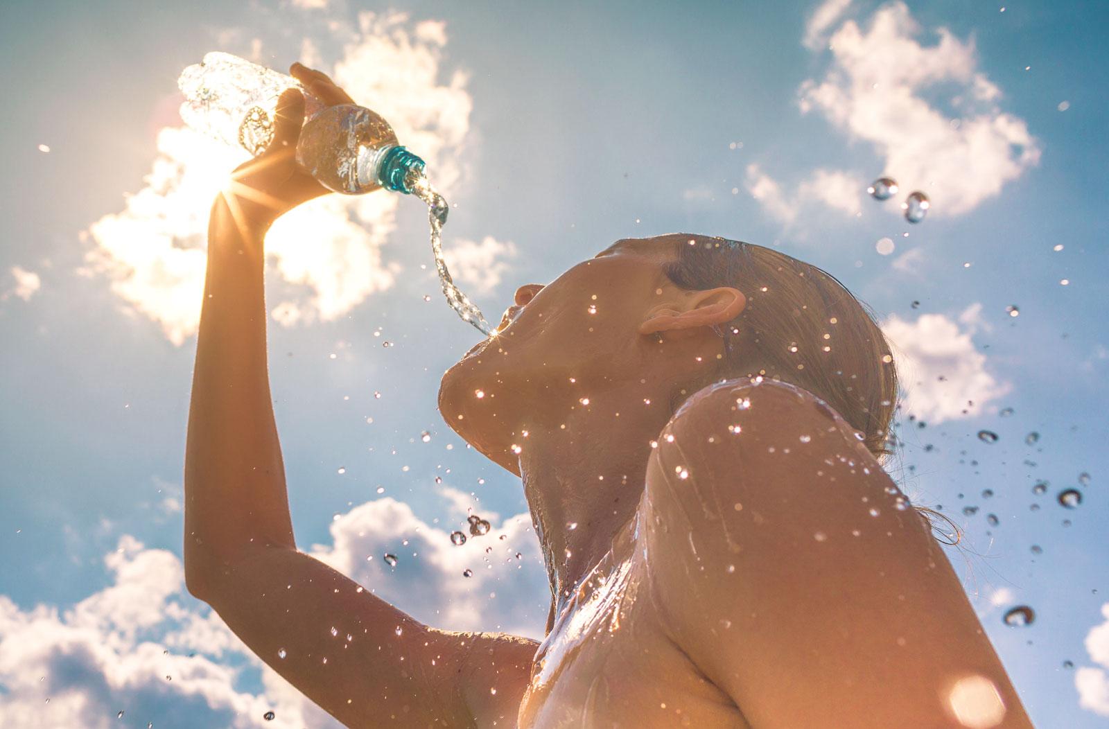 Aktiv durch den Sommer - Leistungsfaehigkeit trotz Hitze erhalten