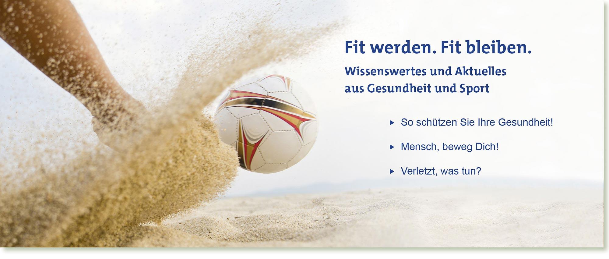 HeadImage | [formula] Müller-Wohlfahrt Gesundheit und Sport im Sommer