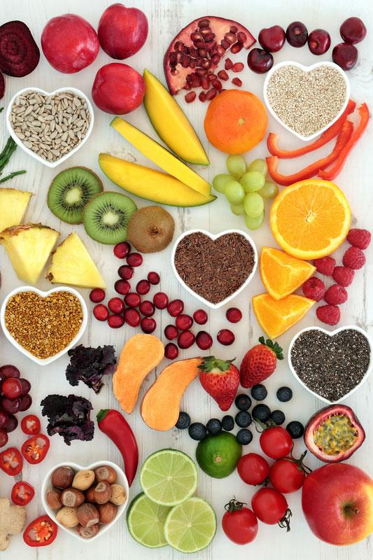 Vitamine und Mineralien - Bausteine für ein starkes Bindegewebe