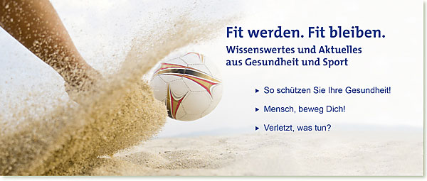 Slider mobil | [formula] Müller-Wohlfahrt Gesundheit und Sport im Sommer