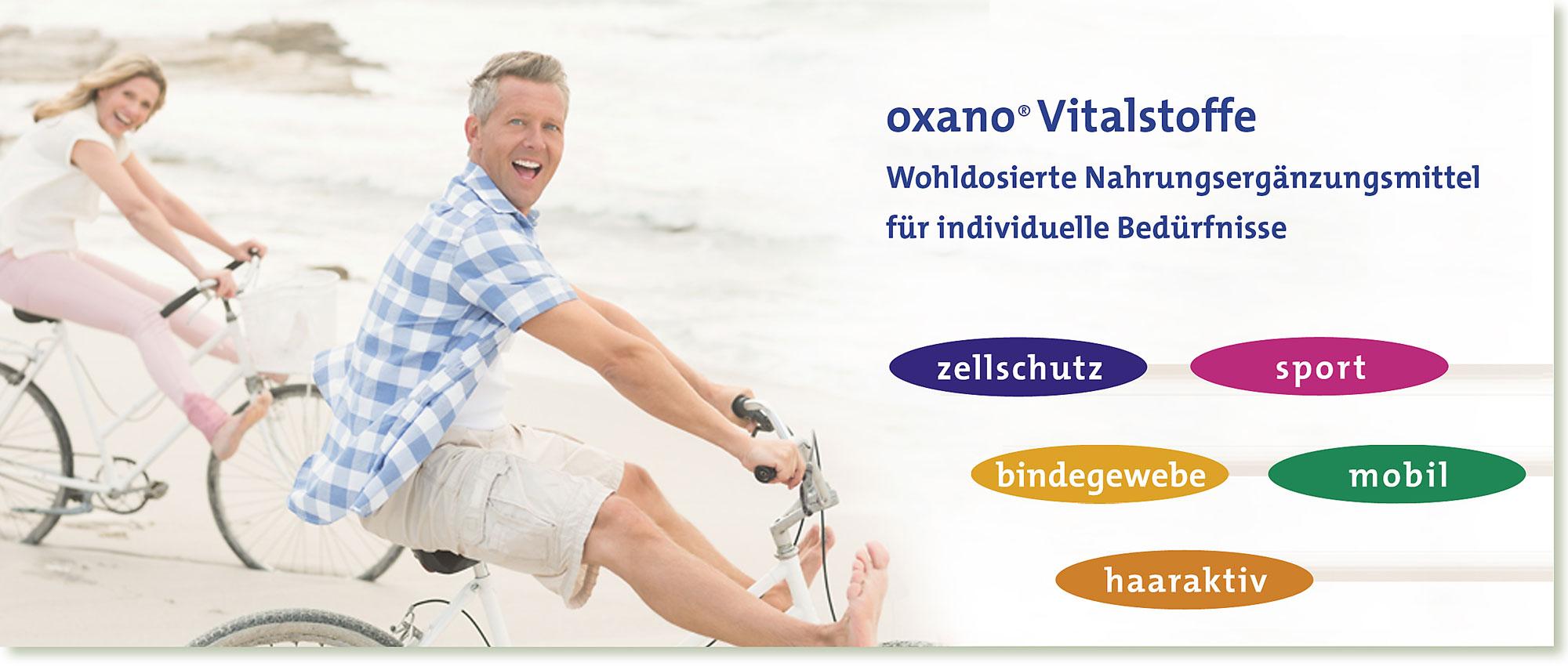 Slider | OXANO Nahrungsergänzungsmittel nach Müller-Wohlfahrt Nahrungsergänzung
